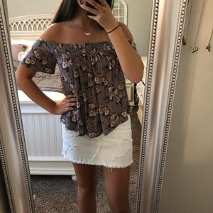 Soft & Sexy Floral Top